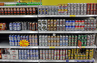 Different kind of beers are sold in a Carrefour supermarket in Kunming, China. Carrefour plans to open 28 new stores in China this year and the company predicts sales to increase more than 15 percent. Carrefour currently operates more than 130 stores in China. Last year, the retailer opened 22 new stores in the country.