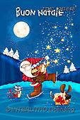 Marcello, CHRISTMAS SANTA, SNOWMAN, WEIHNACHTSMÄNNER, SCHNEEMÄNNER, PAPÁ NOEL, MUÑECOS DE NIEVE, paintings+++++,ITMCXM1845,#X#