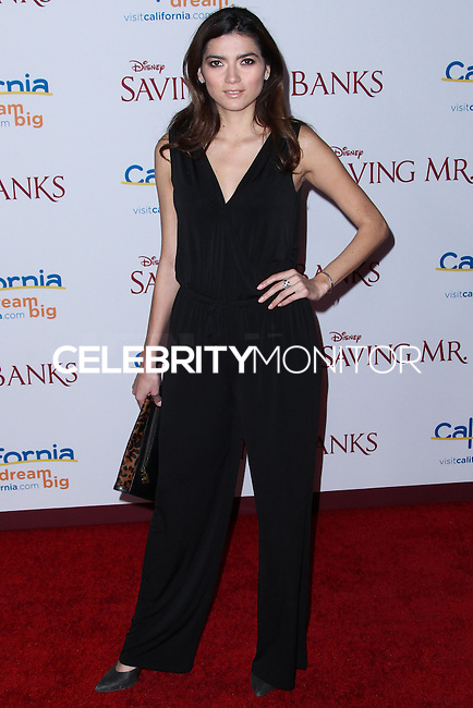 "BURBANK, CA - DECEMBER 09: Blanca Blanco arriving at the U.S. Premiere Of Disney's ""Saving Mr. Banks"" held at Walt Disney Studios on December 9, 2013 in Burbank, California. (Photo by Xavier Collin/Celebrity Monitor)"