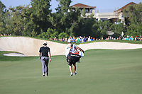 Rory McIlroy (NIR) on the 12th fairway on the 13th tee during the 3rd round of the DP World Tour Championship, Jumeirah Golf Estates, Dubai, United Arab Emirates. 23/11/2019<br /> Picture: Golffile | Phil Inglis<br /> <br /> <br /> All photo usage must carry mandatory copyright credit (© Golffile | Phil Inglis)