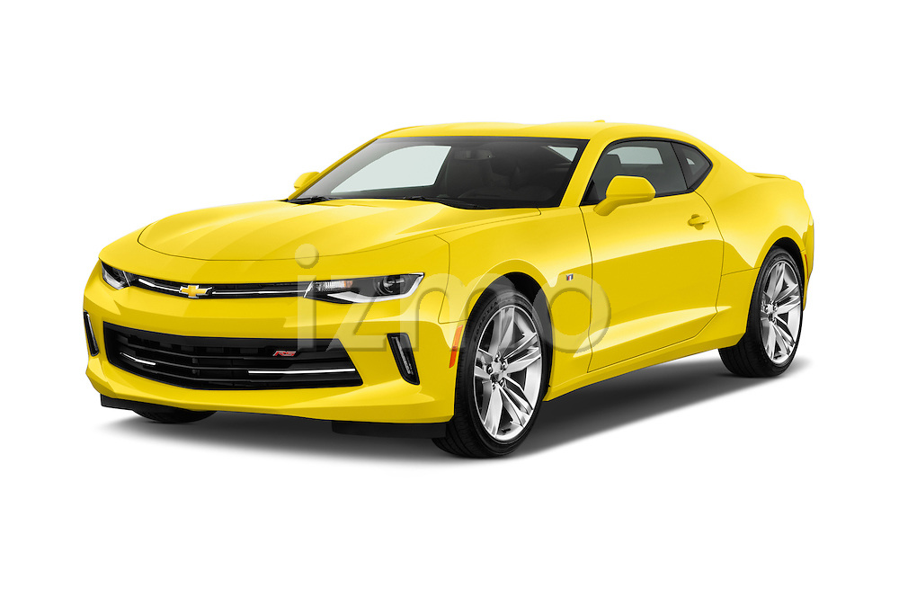 2016 Chevrolet CAMARO 2LT 2 Door coupe Angular Front stock photos of front three quarter view