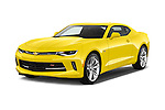 2018 Chevrolet CAMARO 2LT 2 Door coupe Angular Front stock photos of front three quarter view