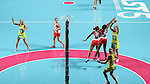 2016 Fast 5 Netball World Series<br /> <br /> Game 10<br /> Australia v England<br /> <br /> <br /> Photo: Grant Treeby