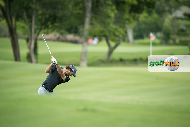 Clement Sordet (FRA) during the 3rd round of the AfrAsia Bank Mauritius Open, Four Seasons Golf Club Mauritius at Anahita, Beau Champ, Mauritius. 01/12/2018<br /> Picture: Golffile | Mark Sampson<br /> <br /> <br /> All photo usage must carry mandatory copyright credit (© Golffile | Mark Sampson)