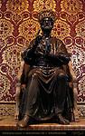St Peter Bronze Alabaster Arnolfo di Cambio 1300 St Longinus Pier St Peter's Basilica