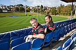 Counties Manukau Steelers Coach Milton Haig with his new assistant Coach/Player, Tana Umaga at Growers Stadium Pukekohe, Tuesday 22nd 2010.