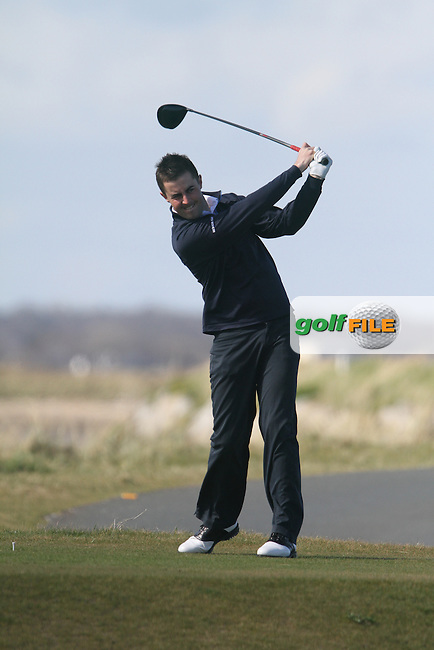 L Hutchinson (Royal Dublin) during the Hilary Golf Society Outing at Sutton Golf Course...(Photo Jenny Matthews/www.golffile.ie)