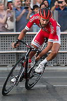 Loic Chetout during the last stage or La Vuelta of Spain in Madrid. September 10, 2016. (ALTERPHOTOS/Rodrigo Jimenez) NORTEPHOTO.COM