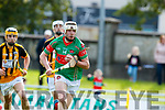 Barry Mahony Crotta O'Neills in action against Abbeydorney/Tralee Parnells in the Minor Hurling County Final   at Austin Stack Park on Sunday.