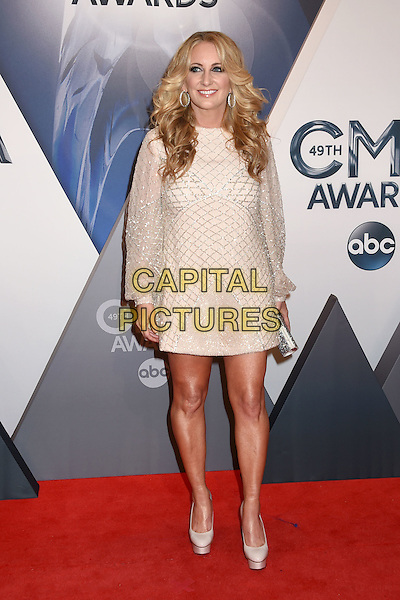 4 November 2015 - Nashville, Tennessee - Lee Ann Womack. 49th CMA Awards, Country Music's Biggest Night, held at Bridgestone Arena. <br /> CAP/ADM/LF<br /> &copy;LF/ADM/Capital Pictures