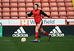 Sheffield United Ladies' Lucy Derbyshire warms up prior to kick off during the FA Women's Cup First Round match at Bramall Lane Stadium, Sheffield. Picture date: December 4th, 2016. Pic Clint Hughes/Sportimage