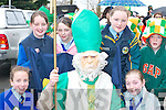 MEETING: Meeting St Patrick at the Castleisland St Patricks Day Parade on Saturday were, l-r: Eilish OCallaghan, Selina McCarthy, Samantha Roche, Aileen Cullinane, Margaret McCarthy and Sean McCarthy..
