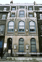 Sir John Soane: Sir John Soane's House & Museum,  No. 13 Lincoln's Inn Fields, 1812-14.