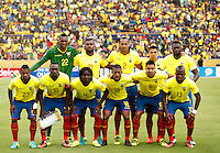 QUITO - ECUADOR - 01-09-2016: Ecuador y Brasil durante partido válido por la fecha 7 de la clasificación a la Copa Mundo FIFA 2018 Rusia jugado en el estadio Olímpico Atahualpa en Quito./  Ecuador and Brazil during match valid for the date 7 of 2018 FIFA World Cup Russia Qualifier played at Olimpico Atahualpa stadium in Quito. Photo: VizzorImage / Agencia Cronistas Gráficos
