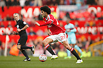 Marouane Fellaini of Manchester United during the Emirates FA Cup match at Old Trafford. Photo credit should read: Philip Oldham/Sportimage