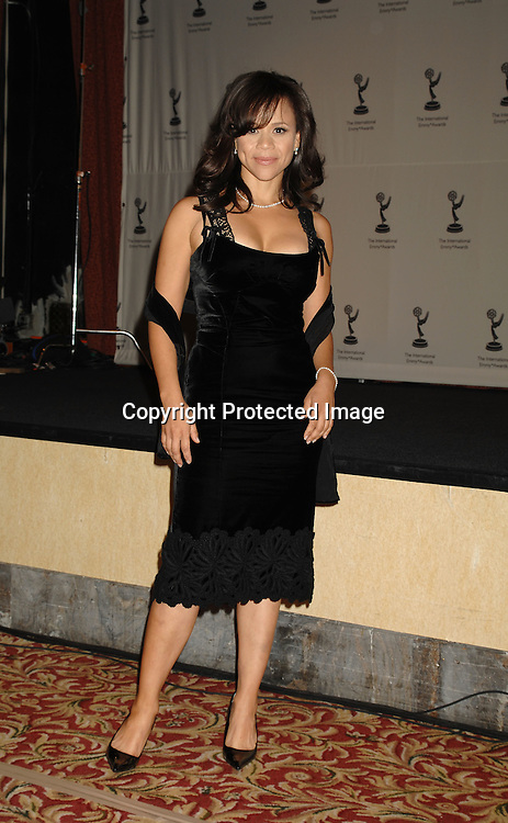 Rosie Perez ..at The 2006 International Emmy Awards Gala on   November 20, 2006 at The New York Hilton. ..Photo by Robin Platzer, Twin Images