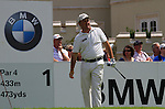 Damien McGrane after teeing off on the 1st tee to start Round 2 of the BMW PGA Championship at  Wentworth, Surrey, England...Photo Golffile/Eoin Clarke.(Photo credit should read Eoin Clarke www.golffile.ie)....This Picture has been sent you under the condtions enclosed by:.Newsfile Ltd..The Studio,.Millmount Abbey,.Drogheda,.Co Meath..Ireland..Tel: +353(0)41-9871240.Fax: +353(0)41-9871260.GSM: +353(0)86-2500958.email: pictures@newsfile.ie.www.newsfile.ie.