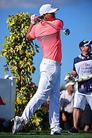 Brooks Koepka (USA) watches his tee shot on 13 during round 1 of the Honda Classic, PGA National, Palm Beach Gardens, West Palm Beach, Florida, USA. 2/23/2017.<br /> Picture: Golffile | Ken Murray<br /> <br /> <br /> All photo usage must carry mandatory copyright credit (&copy; Golffile | Ken Murray)