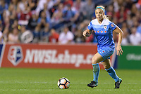Bridgeview, IL - Saturday August 12, 2017: Julie Ertz during a regular season National Women's Soccer League (NWSL) match between the Chicago Red Stars and the Portland Thorns FC at Toyota Park. Portland won 3-2.