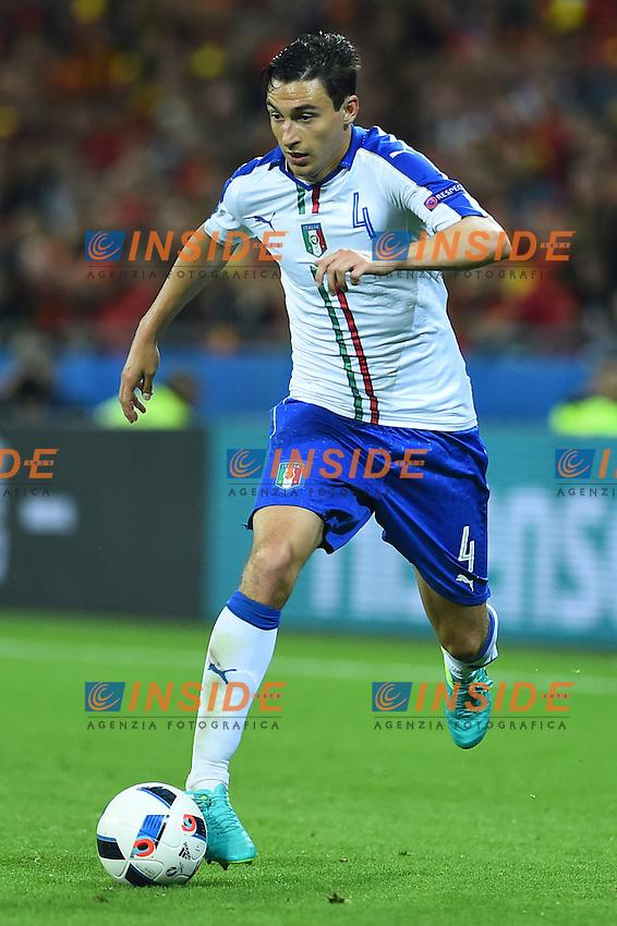 Matteo Darmian Italy <br /> Lyon 13-06-2016 Grand Stade de Lyon Football Euro2016 Belgium-Italy / Belgio-Italia Group Stage Group E. Foto Massimo Insabato / Insidefoto