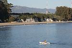 Kayaker at Goleta Beach Park