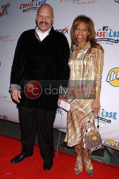 Tom Joyner and Donna Richardson