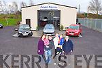 Lorrainne, Brenna, Batty Foley, Paul Mangan Owen and Sean Foley at Dungeel Motors, Killarney Road, Killorglin   Copyright Kerry's Eye 2008