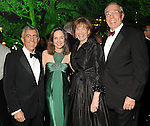 From left: Chairs Matt and Carolyn Khourie with Bobbie and John Nau at the Gala on the Green benefitting the Discovery Green Conservancy Saturday Feb. 27,2010. (Dave Rossman Photo)