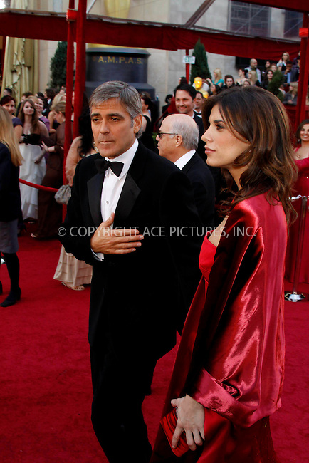WWW.ACEPIXS.COM . . . . .  ....March 7 2010, Hollywood, CA....Actor George Clooney and girlfriend Elisabetta Canalis at the 82nd Annual Academy Awards held at Kodak Theatre on March 7, 2010 in Hollywood, California.....Please byline: Z10-ACE PICTURES... . . . .  ....Ace Pictures, Inc:  ..Tel: (212) 243-8787..e-mail: info@acepixs.com..web: http://www.acepixs.com