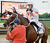 Cinco Charlie winning The First State Dash on Owners Day at Delaware Park on 9/13/14