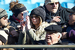 A Wake Forest Demon Deacons fan takes a photo with her cell phone prior to the Belk Bowl against the Texas A&M Aggies at Bank of America Stadium on December 29, 2017 in Charlotte, North Carolina.  The Demon Deacons defeated the Aggies 55-52.  (Brian Westerholt/Sports On Film)