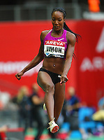 Funmi Jimoh at the Samsung Diamond League. Paris,France Friday, July  16, 2010. Photo by Errol Anderson.