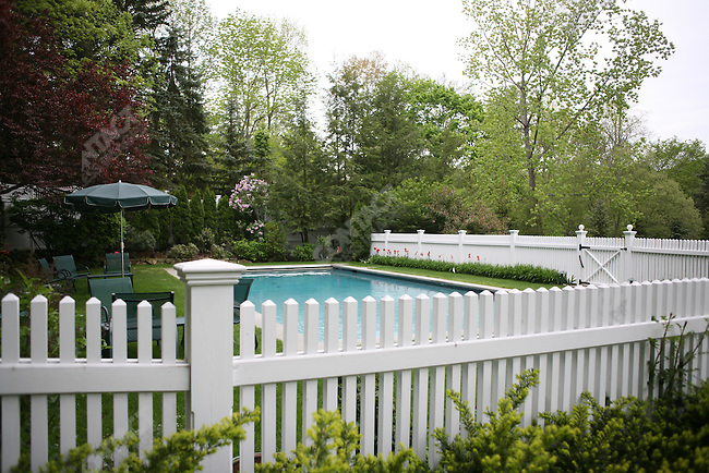 Home of Bill and Hillary Clinton, Chappaqua, New York, USA, May 15, 2008
