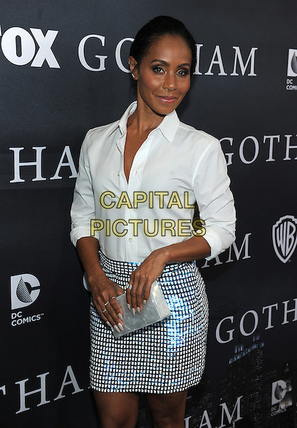 LOS ANGELES - APRIL 28: Jada Pinkett Smith attends FOX's 'Gotham' finale screening event at The Landmark Theatre on April 28, 2015 in Los Angeles, California. <br /> CAP/MPI/PGFM<br /> &copy;PGFM/MPI/Capital Pictures