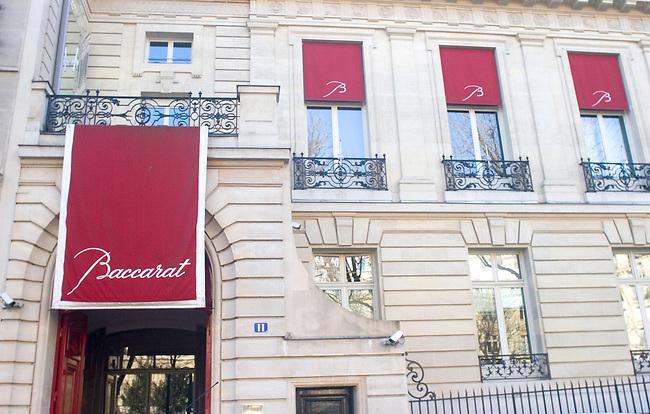 Cristal Baccarat, L'Etoile, Paris, France, Europe