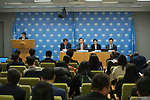 "Press briefing entitled ""2018 PyeongChang Winter Olympics and the GA resolution Building a peaceful and better world through sport and Olympic ideal and its adoption""<br /> Speakers: Jong-hwan Do (Mr.), Republic of Korea's Minister of Culture, Sport and Tourism; Hee-bum Lee (Mr.), President of the PyeongChang Olympic Organizing Committee; Yuna Kim (Ms.), Seunghwan Chung (Mr.), former Olympic athletes and Olympic Goodwill Ambassadors"