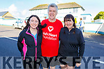 Irene Butler, Jerry and Jackie Treanor from Abbeydorney ready for the run in Causeway for the 5k/10k in aid of Down Syndrome on Sunday morning