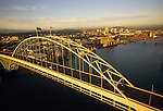 Fremont Bridge in Portland, Oregon