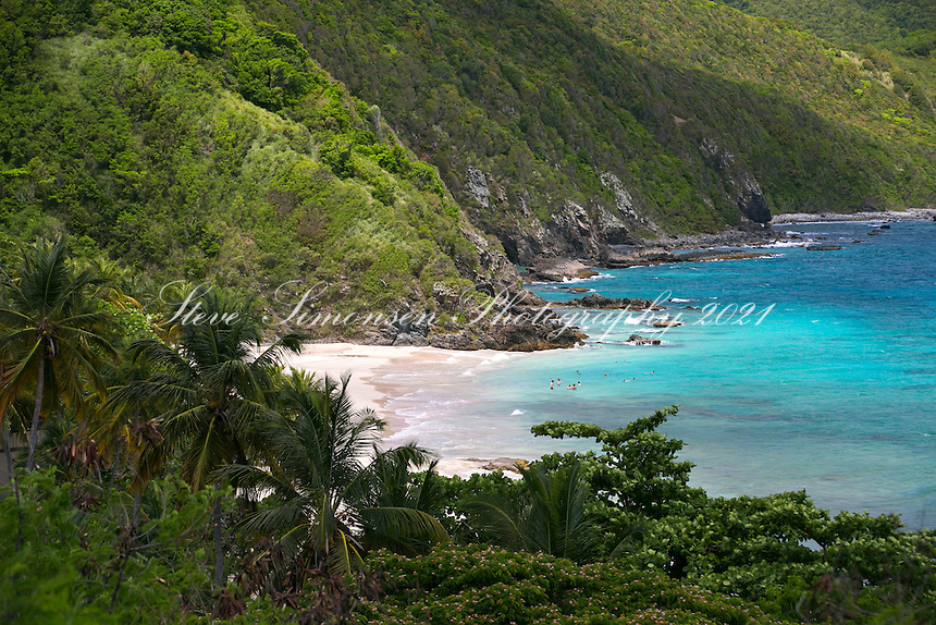 View over the Carambola Resort<br />