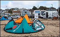 BNPS.co.uk (01202 558833)<br /> Pic:  PhilYeomans/BNPS<br /> <br /> A council is clamping down on 'surfing vans' permanently parked on the millionaires' row of Sandbanks following complaints from wealthy residents they are ruining the views.<br /> <br /> The waters surrounding the exclusive peninsula in Poole Harbour, Dorset, are hugely popular with windsurfers, kite surfers and stand up paddle-boarders.<br /> <br /> Several 'surf schools' that operate out of a fleet of vans and trailers have taken up almost-permanent residence on Shore Road, Sandbanks.<br /> <br /> The local authority is now restricting the amount of time they are allowed to park.