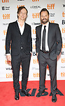 olker Bertelmann aka Hauschka, and Dustin O'Halloran attends 'The Current War' premiere during the 2017 Toronto International Film Festival at Princess of Wales Theatre on September 9, 2017 in Toronto, Canada.