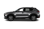 Car Driver side profile view of a 2017 Mazda CX-5 Grand-Touring 5 Door SUV Side View