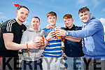 Matt Moynihan Mua, Dave Devane, Mike Hutch, David Corlett, Jack O'Connor, enjoying Killarney Beerfest at the INEC, Killarney, on Saturday last.