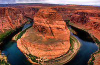 Lake Powell and Horseshoe Bend, Utah (Color)