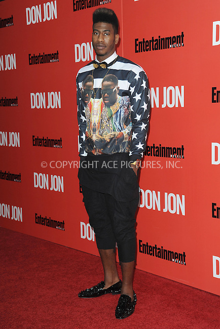WWW.ACEPIXS.COM<br /> September 12, 2013...New York City<br /> <br /> Iman Shumpert attending 'Don Jon' New York Premiere at SVA Theater on September 12, 2013 in New York City.<br /> <br /> Please byline: Kristin Callahan/Ace Pictures<br /> <br /> Ace Pictures, Inc: ..tel: (212) 243 8787 or (646) 769 0430..e-mail: info@acepixs.com..web: http://www.acepixs.com