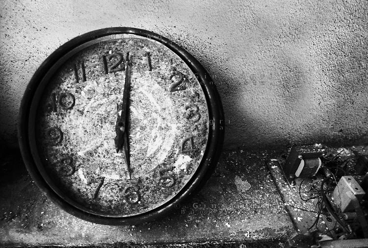 un orologio dell'ex carcere san Donnino di Como