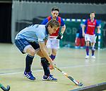 Almere - Zaalhockey  Laren-SCHC (heren)   .  Robbert van de Peppel  . TopsportCentrum Almere.    COPYRIGHT KOEN SUYK