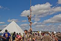 United Kingdom Flag Pole Climbing. Photo: Jesper Landby/Scouterna