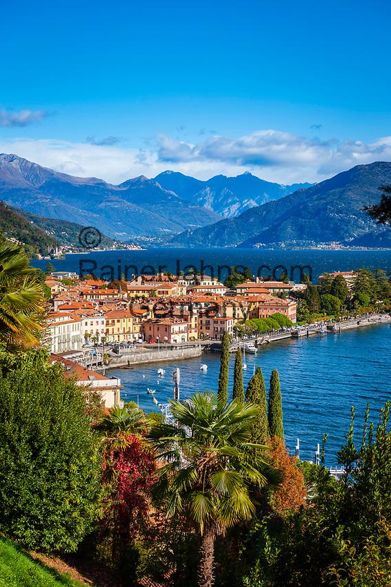 Italy, Lombardia, Menaggio: popular resort on the West Banks of Lake Como | Italien, Lombardei, Menaggio: beliebter Urlaubsort an der Westkueste des Comer Sees, von hier besteht eine Faehrverbindung nach Bellagio und Varenna
