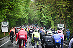 Km0 the start of a very wet and miserable 105th edition of Li&egrave;ge-Bastogne-Li&egrave;ge 2019, La Doyenne, running 256km from Liege to Liege, Belgium. 28th April 2019<br /> Picture: ASO/Gautier Demouveaux | Cyclefile<br /> All photos usage must carry mandatory copyright credit (&copy; Cyclefile | ASO/Gautier Demouveaux)